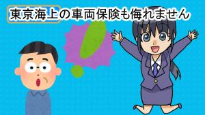 東京海上の車両保険も侮れません